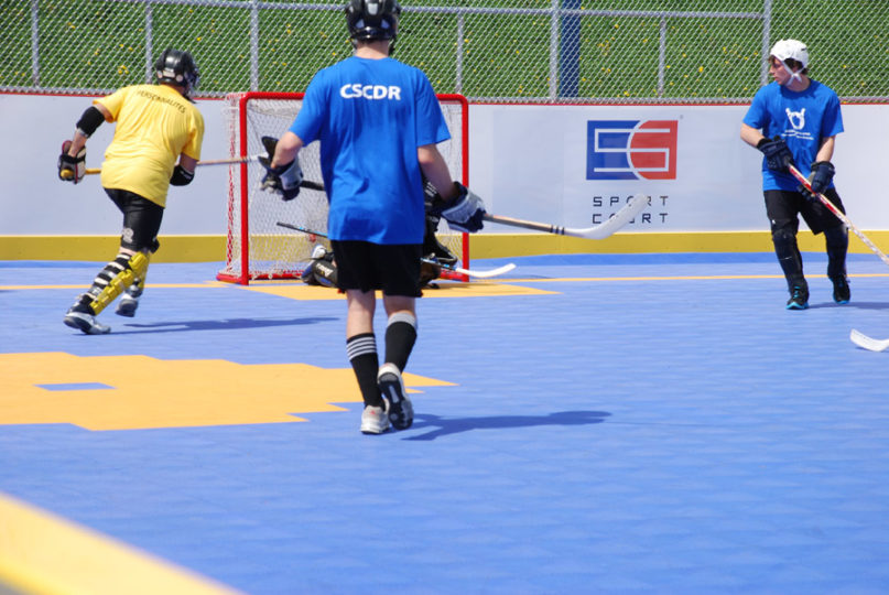 in-line hockey